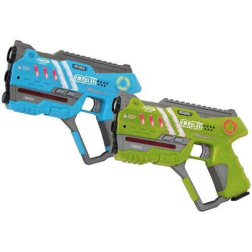 Jamara Laserpistole »Impulse Pistol«, für Kinder ab 8 Jahren, blau