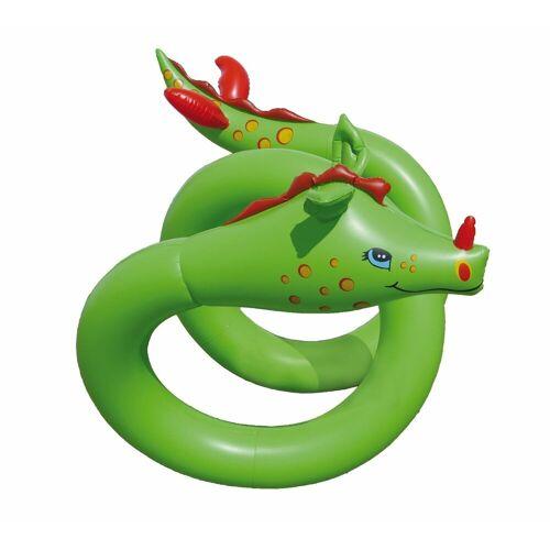 """Royalbeach Schwimmtier »Wasserspieltier Schlange """" Snakie""""«, aufblasbar, grün, phtalatfreier Folie"""