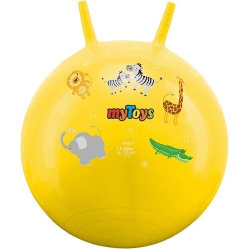 myToys Hüpfspielzeug »Hüpfball mit Zootieren«