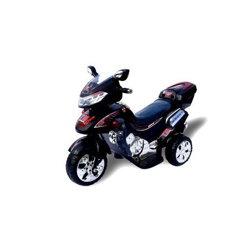 Actionbikes Motors Elektro-Kinderdreirad »Kinder Elektroauto C031«, Belastbarkeit 30 kg, Elektro Motorrad / Auto / Dreirad, Schwarz