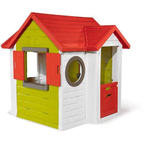 Smoby Spielhaus Mein Neo Haus, langlebiger Kunststoff