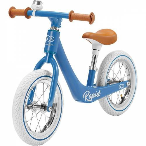 Kinderkraft Laufrad »Laufrad RAPID green«, blau