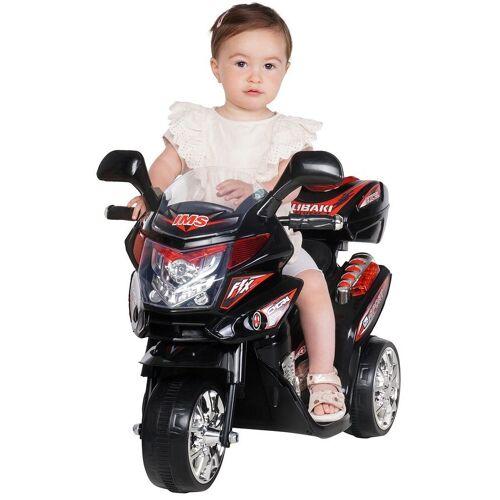 Actionbikes Motors Elektro-Kinderdreirad »Kinder Elektroauto C051«, Belastbarkeit 25 kg, Elektro Motorrad / Auto / Dreirad bis zu 3km/h, Schwarz