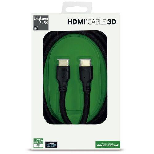 BigBen »HQ HDMI-Kabel 1.4 3D 4K UHD Ethernet für HD TV Blu-Ray Xbox One 360 PS4« HDMI-Kabel, HDMI Typ A, HDMI Typ A (200 cm), 2 Meter