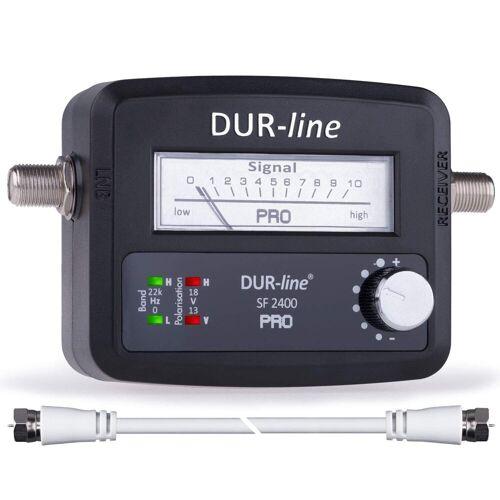 DUR-line »® SF 2400 Pro - Satfinder - NEU - Messgerä« SAT-Kabel