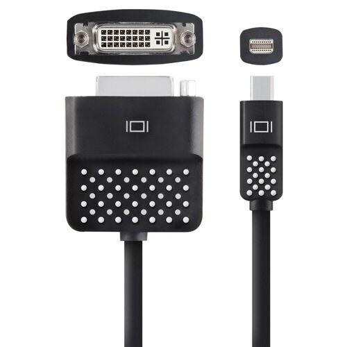 Belkin Adapter »Mini Displayport auf DVI Adapter, 12,5 cm«, Schwarz