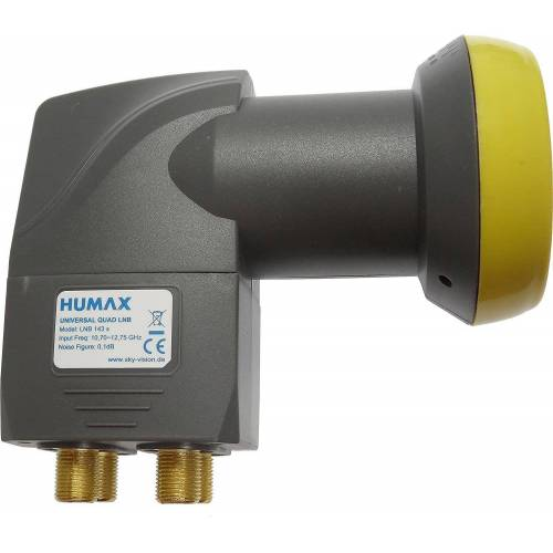 Humax »Digital LNB 143s-B Quad Switch (Quad LNB, 4« Universal-Quad-LNB