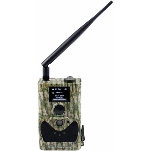 Berger & Schröter »Wildkamera-Fotofalle HD 18 MP mit MMS/GPRS-Funktion« Outdoor-Kamera
