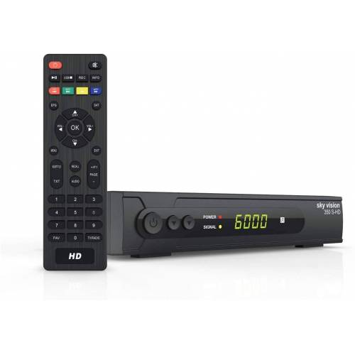 Sky Vision »HD SAT Receiver 350 S-HD - HDMI Receive« Satellitenreceiver