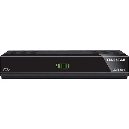 TELESTAR »digiHD TS 12 HDTV-Satelliten Receiver (DVB-S, DVB-S2, PVR Ready, HDMI, Scart, USB)« SAT-Receiver