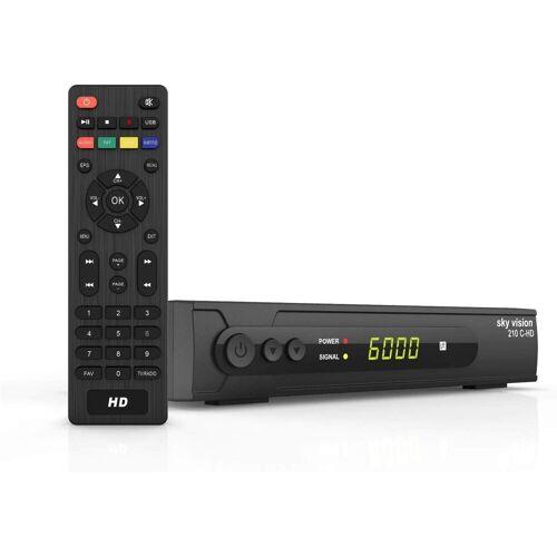 Sky Vision »DVB C Kabel Receiver 210 C-HD - HD« Kabel-Receiver