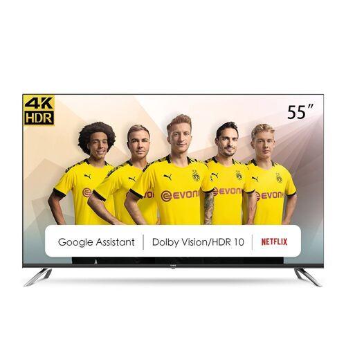 ChiQ U55H7A LED-Fernseher, Energieeffizienzklasse G (März 2021)