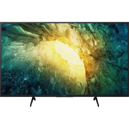 Sony KD-49X7055 LED-Fernseher (123 cm/49 Zoll, 4K Ultra HD, Smart-TV), Energieeffizienzklasse G (März 2021)