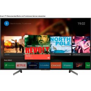 Sony KD49XG8096BAEP LED-Fernseher (123 cm/49 Zoll, 4K Ultra HD, Smart-TV, Android TV), Energieeffizienzklasse A