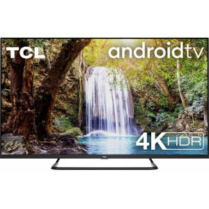 TCL 65EP680 LED-Fernseher (164 cm/65 Zoll, 4K Ultra HD, Smart-TV, Android 9.0 Betriebssystem, AndroidTV Sprachfernbedienung), Energieeffizienzklasse A+