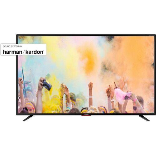 Sharp 4T-55BJx LED-Fernseher (139 cm/55 Zoll, 4K Ultra HD, Smart-TV), Energieeffizienzklasse G