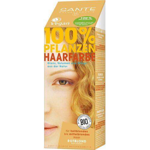 SANTE Haarfarbe »Pflanzenhaarfarbe rotblond«