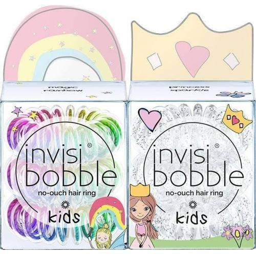 invisibobble Spiral-Haargummi »KIDS«, Set, 6-tlg.