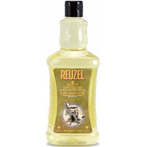 Reuzel Haarshampoo »Tea Tree 3-in-1 Haarpflege«, 1-tlg., Kombiprodukt