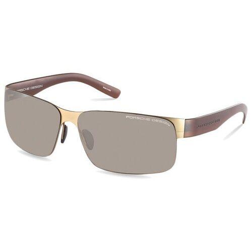 PORSCHE Design Sonnenbrille, Herren Sonnenbrille »P8573«, C - grau