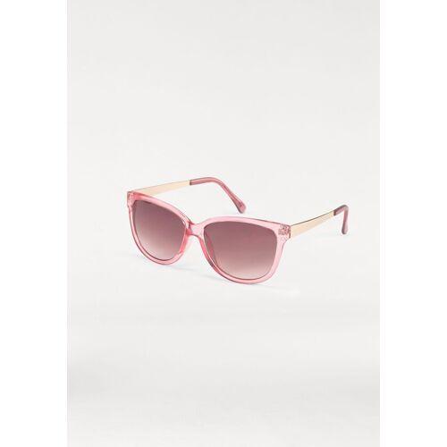 Sonnenbrille (1-St) Eckige Brille, Retro Look