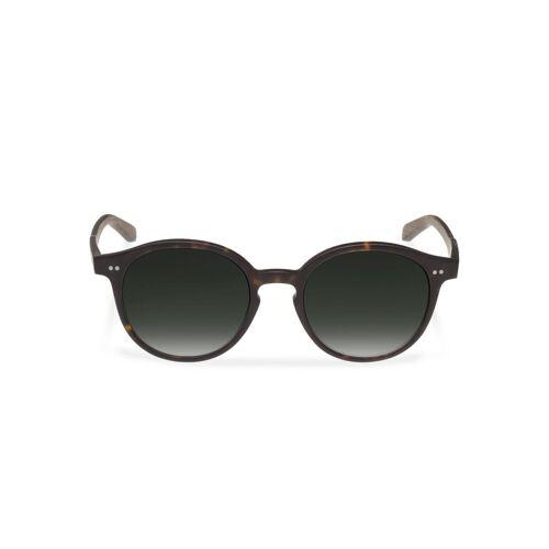 WOOD FELLAS Sonnenbrille mit UV 400 Sonnenschutz, braun/grün
