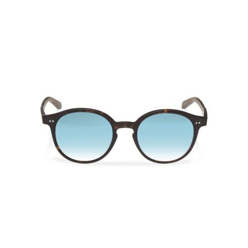 WOOD FELLAS Sonnenbrille mit UV 400 Sonnenschutz, braun/blau