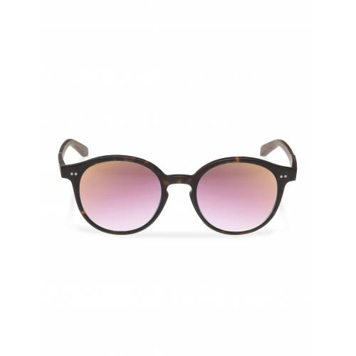 WOOD FELLAS Sonnenbrille mit UV 400 Sonnenschutz, braun/rose