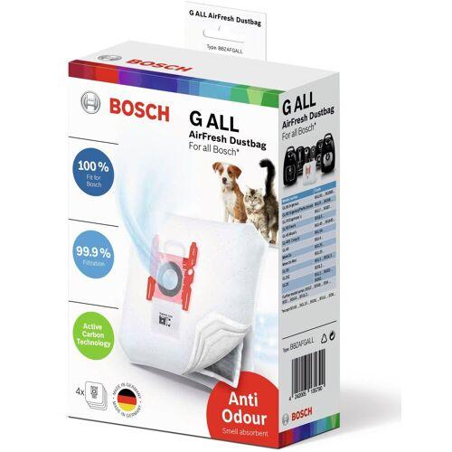 Bosch Staubsaugerbeutel Staubsaugerbeutel Typ GALL AirFresh, 4 Stück