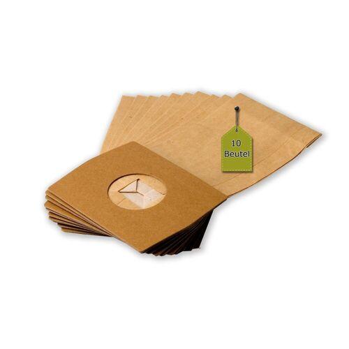 eVendix Staubsaugerbeutel 10 Staubsaugerbeutel Staubbeutel passend für Staubsauger Privileg 921 582, passend für Privileg