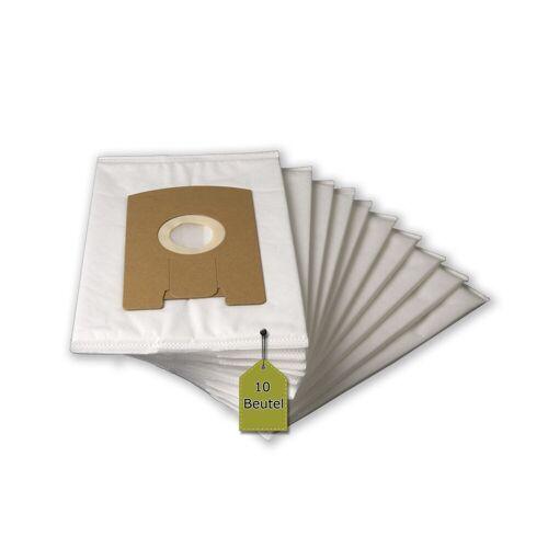 eVendix Staubsaugerbeutel 10 Staubsaugerbeutel Filtertüten Beutel geeignet für Vorwerk Tiger 260 265 270, passend für Vorwerk