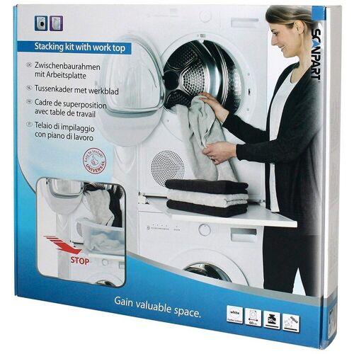 Scanpart Waschmaschinenumbauschrank »Arbeitsplatte f. Waschmaschine/-Trockner«