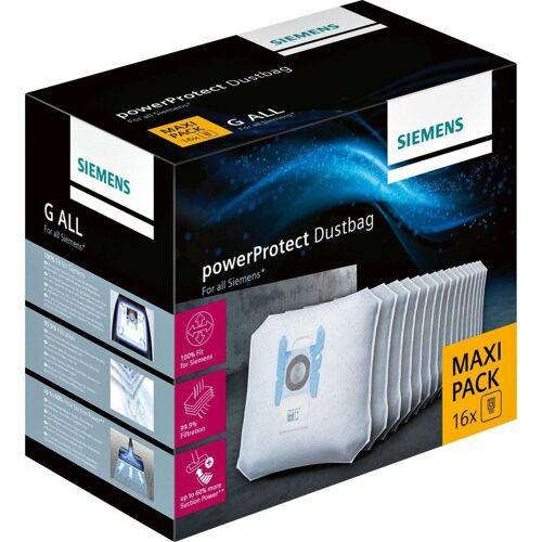 Siemens Staubsaugerbeutel 16 Stück, passend für , Maxi Pack