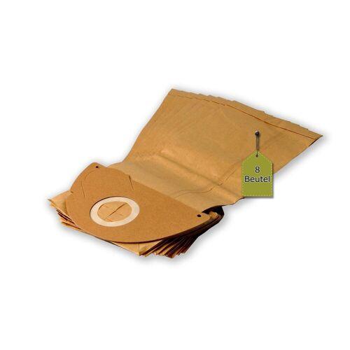 eVendix Staubsaugerbeutel Staubsaugerbeutel passend für Kärcher 6.904-167.0, 8 Staubbeutel ähnlich wie Original Kärcher Staubsaugerbeutel 6.904-167, passend für Kärcher