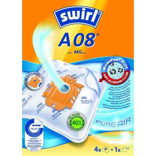 Swirl Staubsaugerbeutel Staubsaugerbeutel A08 (A09) / A 08, passend für AEG Gr. 22 / 23 / 24 / 25 / 26