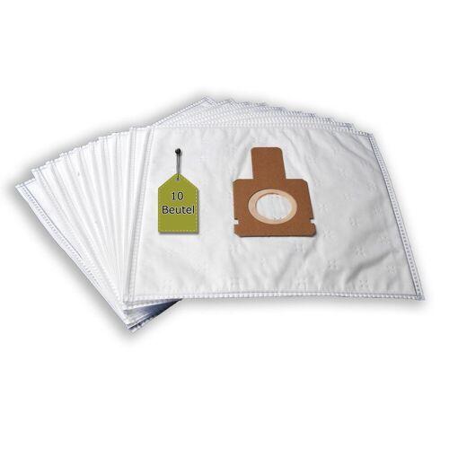 eVendix Staubsaugerbeutel 10 Staubsaugerbeutel Staubbeutel passend für Staubsauger Omega OM 1579, passend für Omega