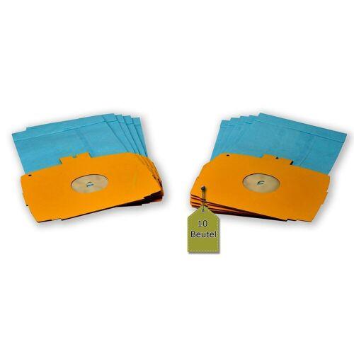eVendix Staubsaugerbeutel Staubsaugerbeutel kompatibel mit Electrolux D 728 - 730, 10 Staubbeutel ähnlich wie Original Electrolux Staubsaugerbeutel 113466, E 6, passend für Electrolux