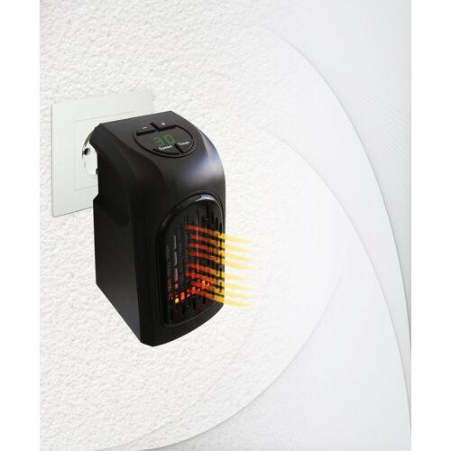 LIVINGTON Heizlüftgerät »Handy Heater«, 370 W, schwarz