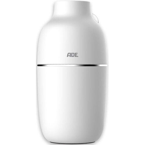 ADE Luftbefeuchter HM1800-1, 0,16 l Wassertank, Raumbefeuchter mit USB-Anschluss, 160 ml Kapazität, weiß