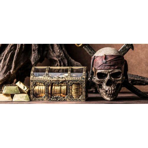 Marmony Infrarotheizung »Pirat«, 800 W, 100x40x2 cm (B/T/H), braun