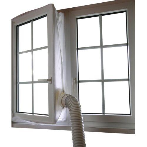 Sonnenkönig SONNENKÖNIG Fensterabdichtung »Fensterkit für Klimageräte«, Umlaufmaß 400 cm, weiß
