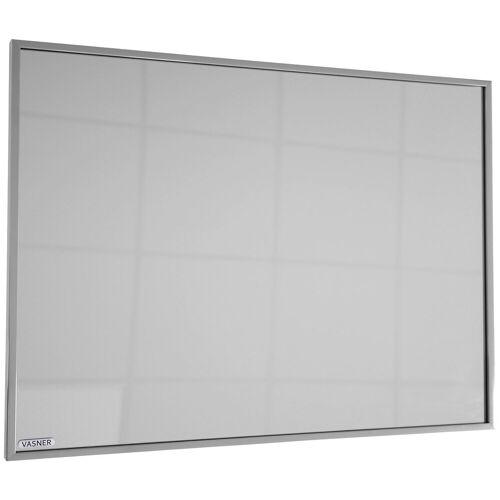 Vasner Infrarotheizung »Zipris S 700«, 700 W, Spiegelheizung mit Titan-Rahmen, grau
