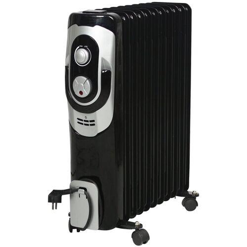 El Fuego Ölradiator , Elektro, 2500 W, schwarz