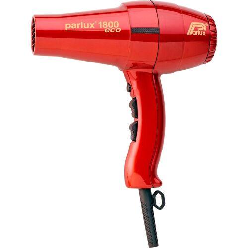 Parlux Haartrockner 1800 Eco, 1400 W, Niedriger Energieverbrauch, rot