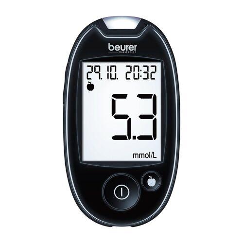 Beurer Blutzuckermessgerät Blutzuckermessgerät GL 44 mmol/L, Set, inkl. Starterset