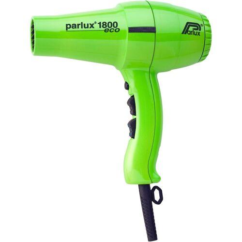 Parlux Haartrockner 1800 Eco, 1400 W, Niedriger Energieverbrauch, grün