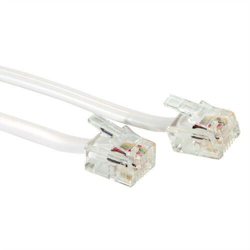 VALUE »RJ12-Kabel 6P4C« Computer-Kabel, (1500.0 cm)