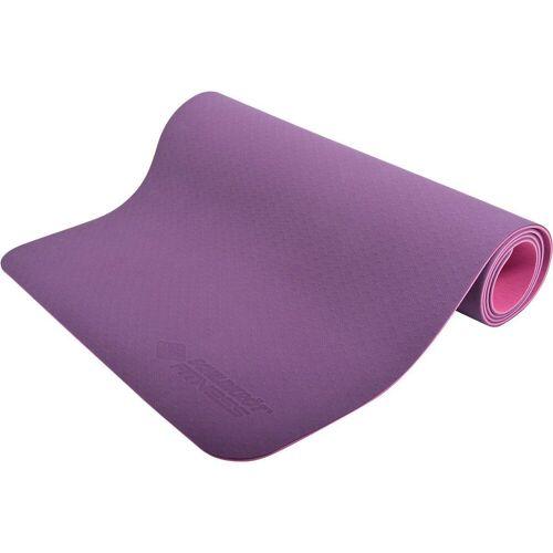 Schildkröt-Fitness Yogamatte »Yogamatte 4mm, blau«, lila
