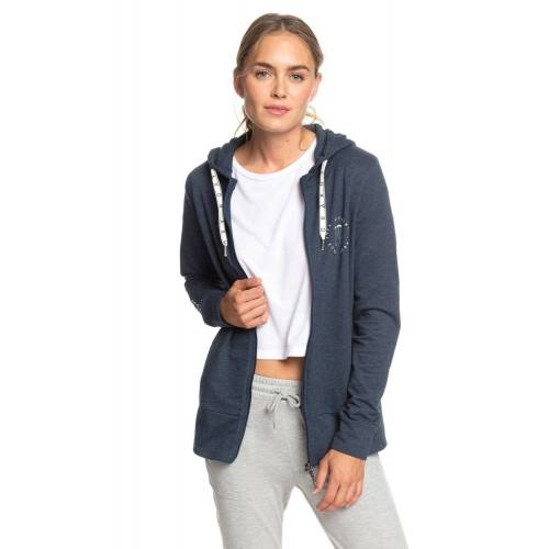 Roxy Yoga-Sweatjacke »Out In LA B«, blau