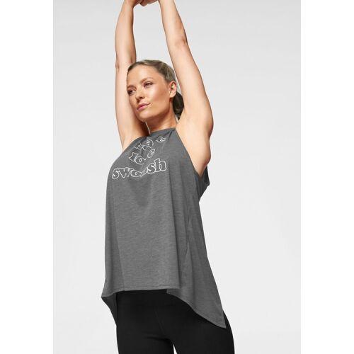 Nike Yogatop »Women's Training Tank«, dunkelgrau-meliert